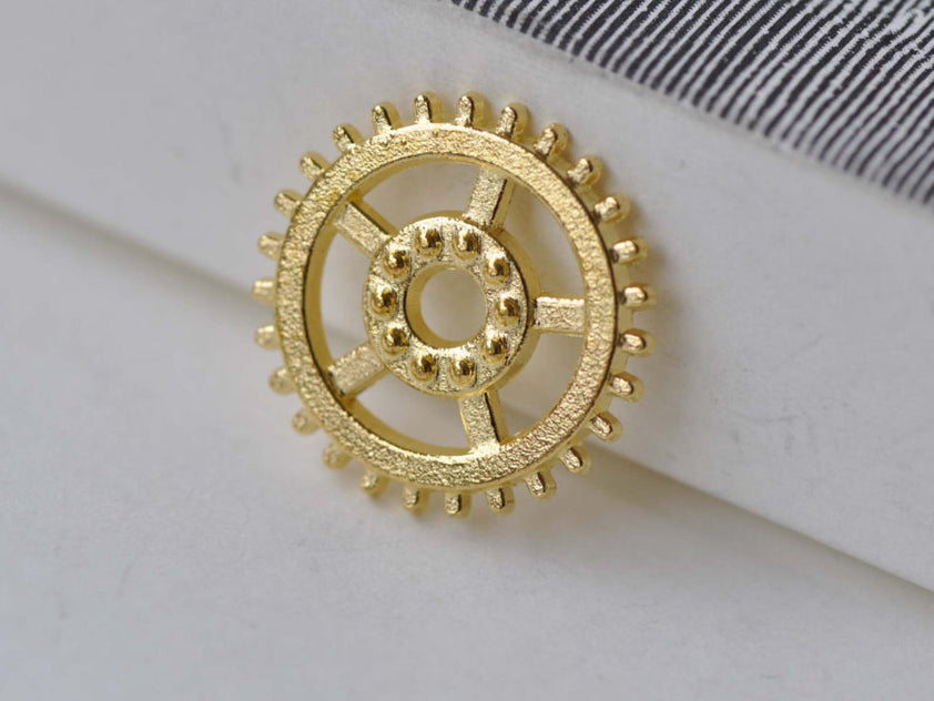 Gold Gears Mechanical Watch Movement Set of 20 A7946
