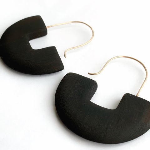 Square to Circle earrings