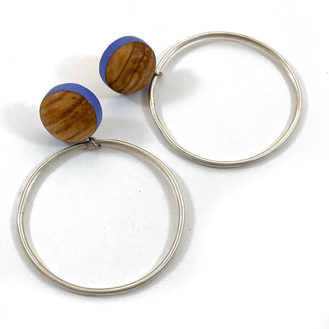 Catcher Post earrings - Circle