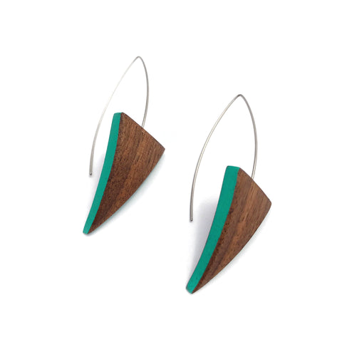 Hook Earrings - Triangles
