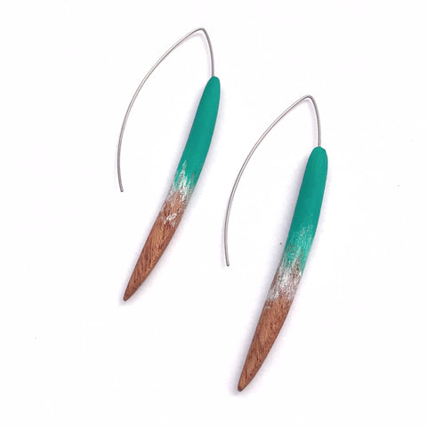 Hook earrings - Quills