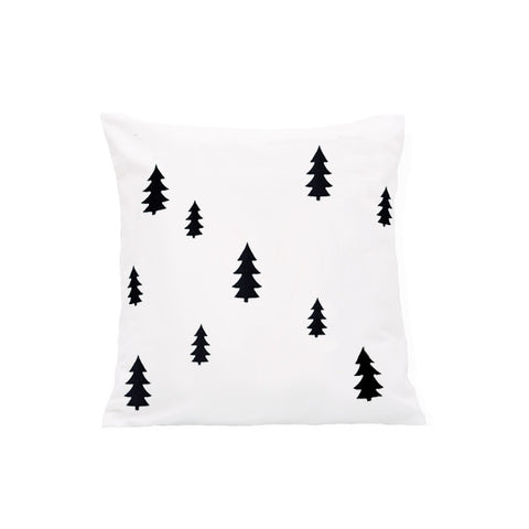 Eulenschnitt Pine Trees Cushion Cover