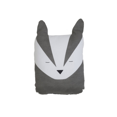 Fabelab Animal Cushion - Bold Badger