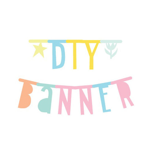 A Little Lovely Company Letter Banner - Pastel