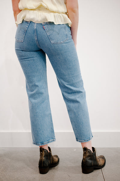 Levi's Denim Straight Leg Jeans