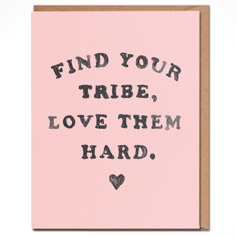 Find Your Tribe Card