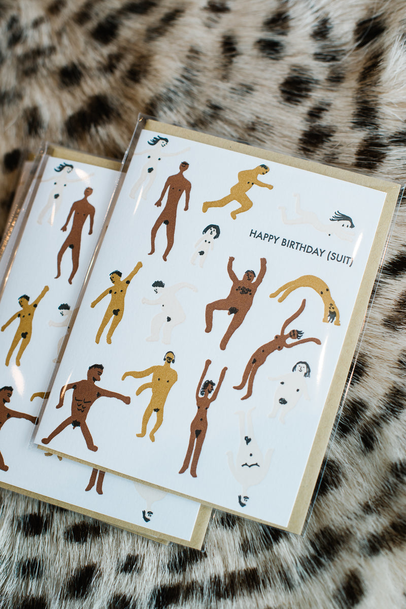 Birthday Suit Card