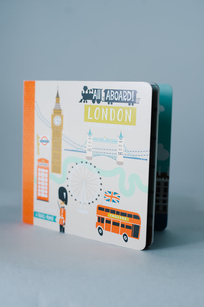 All Aboard London Children's Book