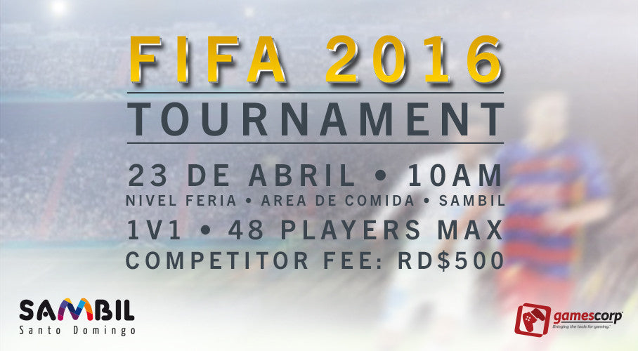 FIFA16 Tournament @ Sambil - 23 de abril