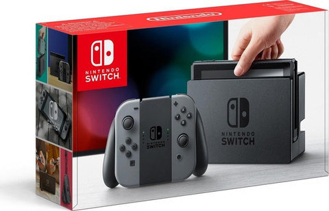 Nintendo Switch with Gray Joy-Con