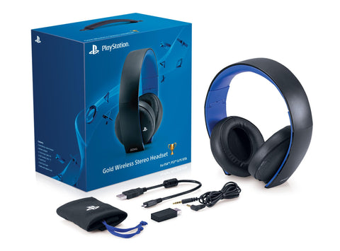 PlayStation Gold Wireless Stereo Headset - Playstation 4