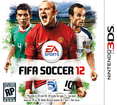 FIFA Soccer 12 - 3DS (used)