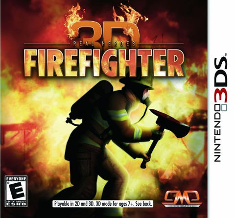Firefighter 3D - Nintendo 3DS  (USED)
