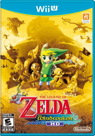 The Legend of Zelda: The Wind Waker HD- Nintendo Wii U