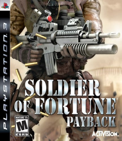 Soldier Of Fortune Payback - Playstation 3   - Used