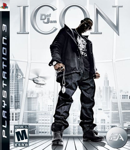 Def Jam Icon - Playstation 3- Used