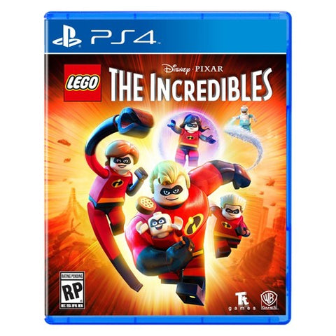 The Lego Incredibles - PlayStation 4