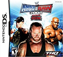 WWE SmackDown vs. Raw 2008 - Nintendo DS (used)