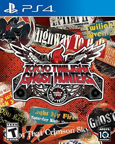 Tokyo Twilight Ghost Hunters Daybreak: Special Gigs! - PlayStation 4 First Edition