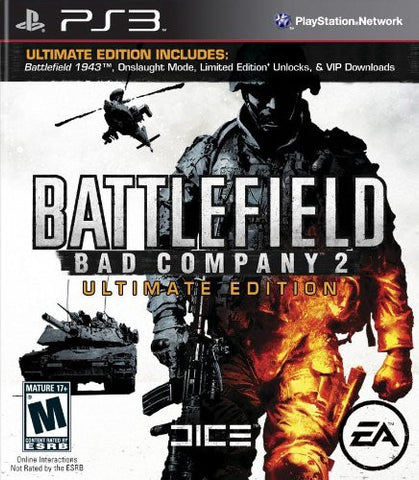 Battlefield Bad Company 2 Ultimate Edition - Playstation 3 - Used