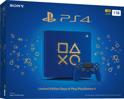 PlayStation 4 500GB - Days Of Play (Limited Edition)