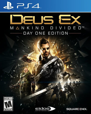 Deus Ex: Mankind Divided - PlayStation 4 (Used)
