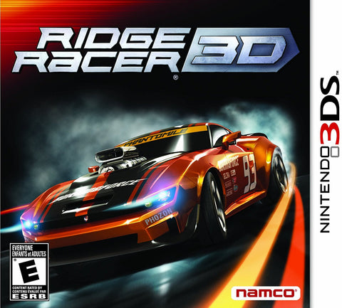 Ridge Racer 3D - Nintendo 3DS (used)