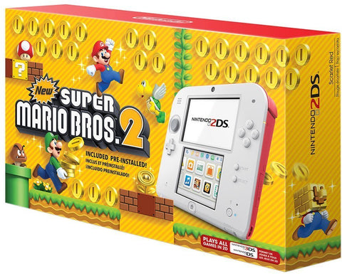 Nintendo 2DS Bundle - New Super Mario Bros. 2 Edition