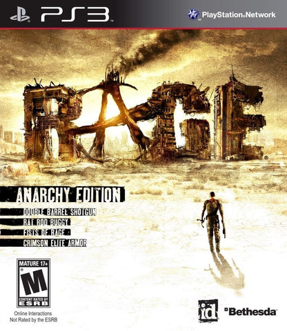 Rage Anarchy Edition - Playstation 3  - Used