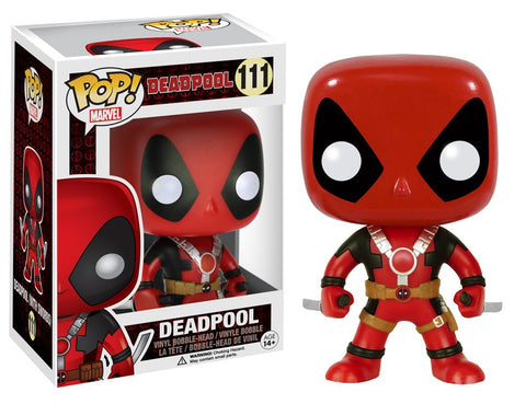 Figura de acción Funko POP Marvel: Deadpool con dos espadas
