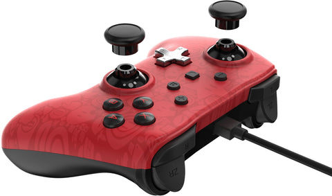 Wired Controller Plus - Super Mario - Nintendo Switch, Red