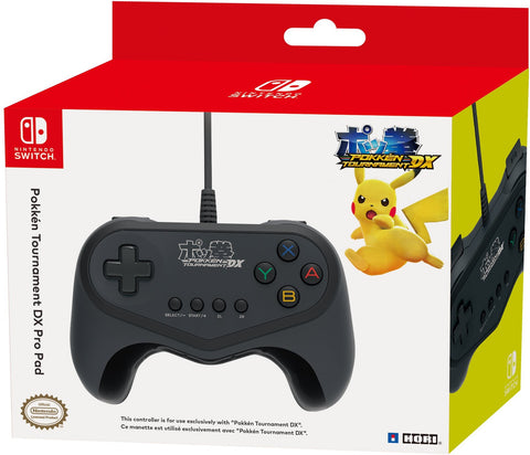 Nintendo Switch Pokken Tournament DX Pro Pad Wired Controller Officially Licensed by Nintendo and Pokemon