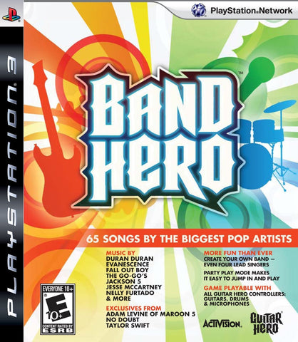 Band Hero Play Station 3 (Used) PS3
