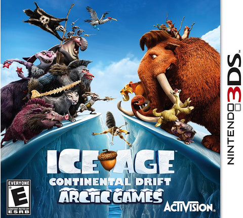Ice Age: Continental Drift - Nintendo 3DS (USED)