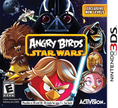 Angry Birds Star Wars - Nintendo 3DS (USED)
