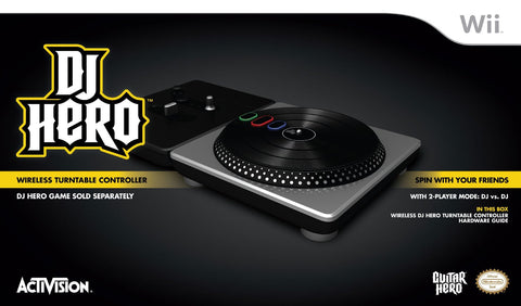 DJ Hero Stand-Alone Turntable - Wii (Used)