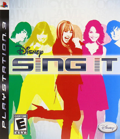 Sing It - Playstation 3  - Used