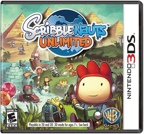 Scribblenauts Unlimited - Nintendo 3DS (USED)