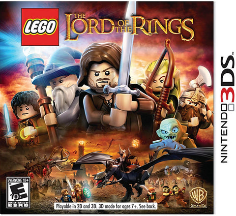 LEGO Lord of the Rings - Nintendo 3DS  (USED)