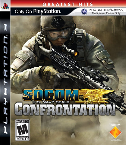 Socom US Navy Seals: Confrontation - Playstation 3 (used)