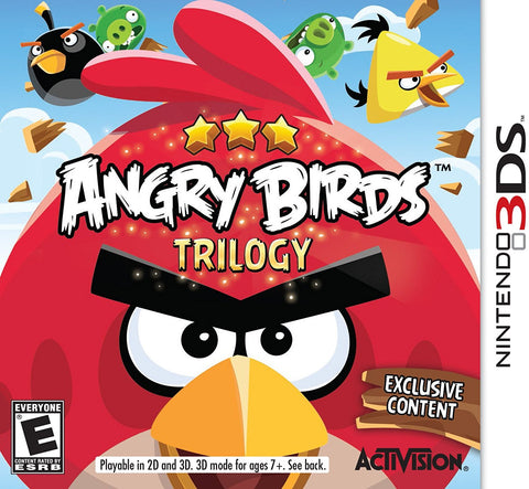 Angry Birds Trilogy - Nintendo 3DS (USED)