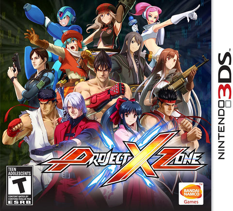 Project X Zone - Nintendo- 3DS (Used)