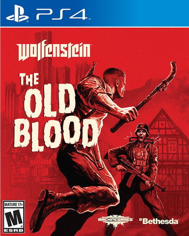 Wolfenstein: The Old Blood - PlayStation 4 (used)