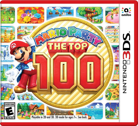 Mario Party: The Top 100 - Nintendo 3DS .