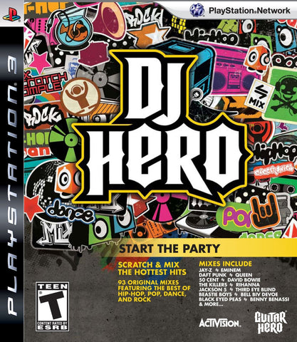 DJ Hero : Start the Party - Ps3 -Used
