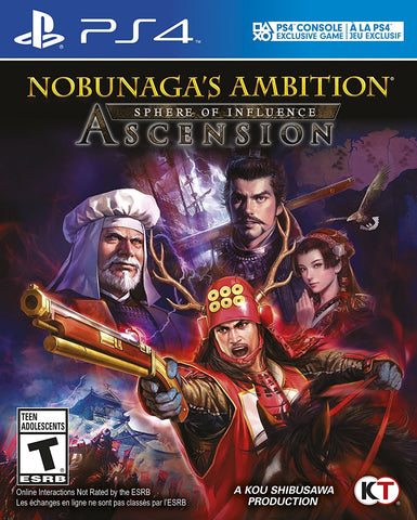 Nobunaga's Ambition: Sphere of Influence - Ascension - PlayStation 4 (used)