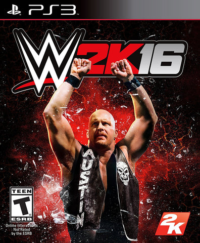 WWE 2K16 - PlayStation 3
