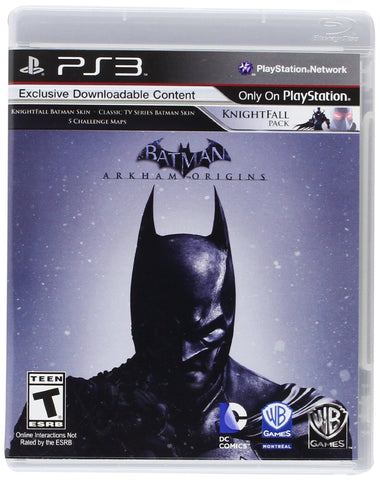 Batman: Arkham Origins - Playstation 3 (Used)