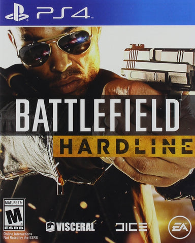 Battlefield Hardline - PlayStation 4 - Used