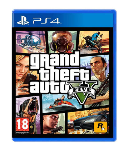 Grand Theft Auto V - PlayStation 4 (Used)